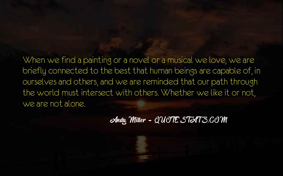 Quotes About Painting The World #1147711
