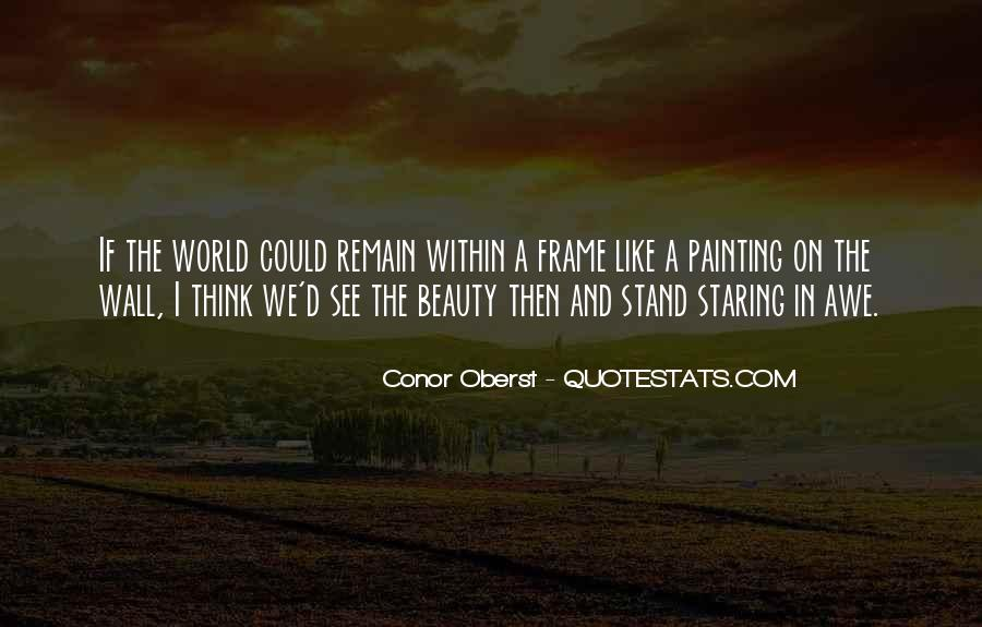 Quotes About Painting The World #1503544