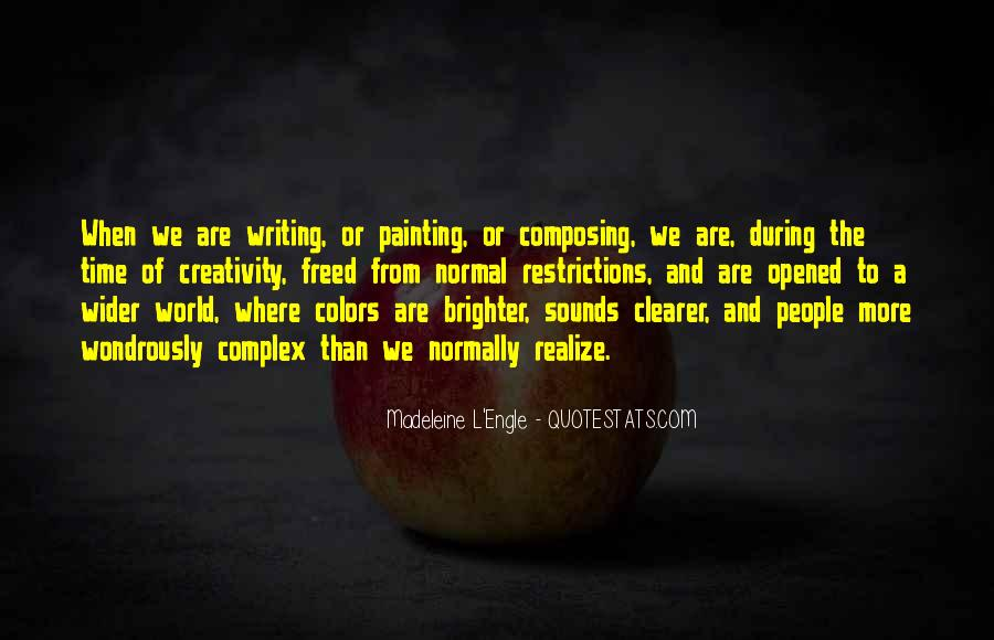 Quotes About Painting The World #1507589