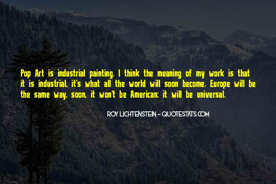 Quotes About Painting The World #1561549