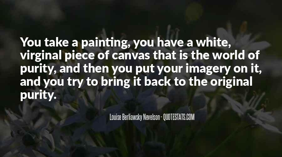 Quotes About Painting The World #208974