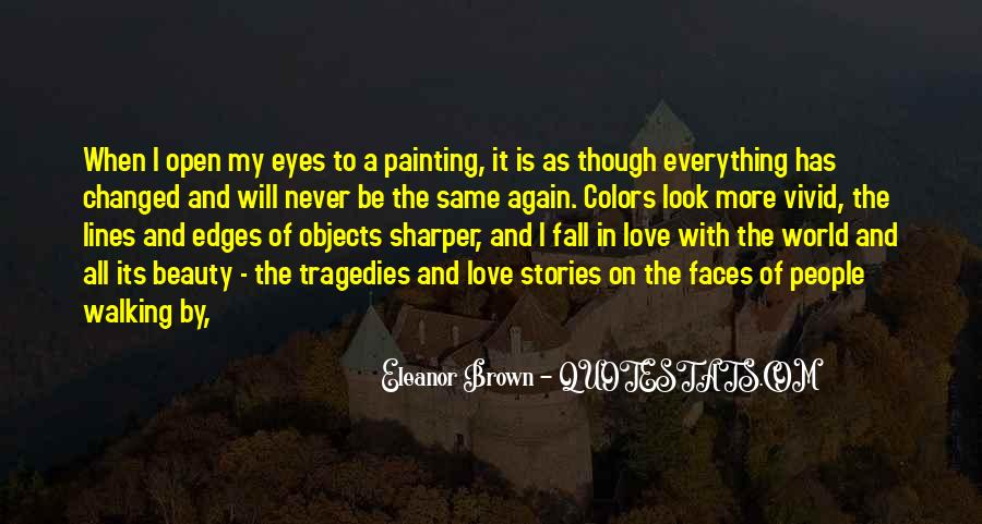 Quotes About Painting The World #388791