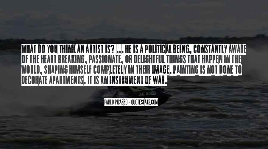 Quotes About Painting The World #408332