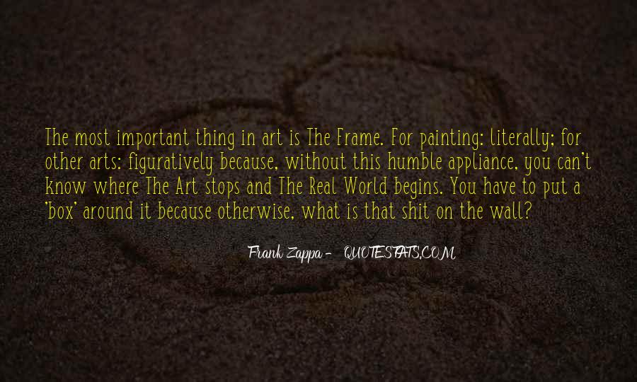 Quotes About Painting The World #422981