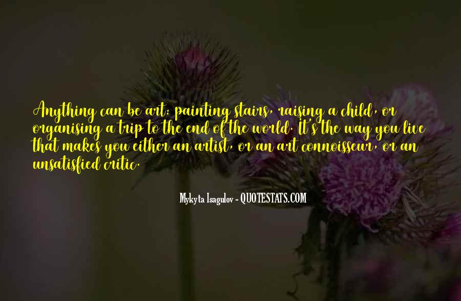 Quotes About Painting The World #442519