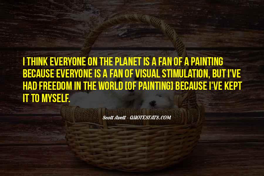 Quotes About Painting The World #817249