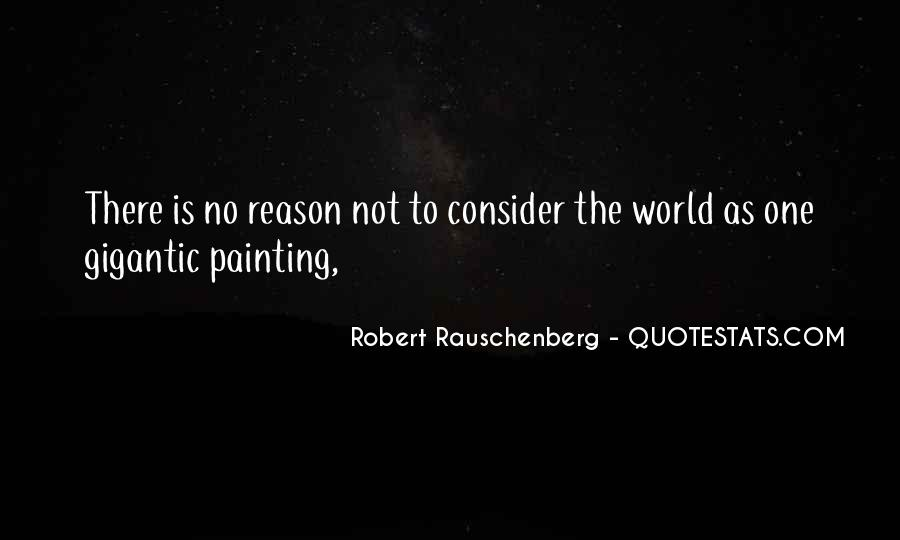 Quotes About Painting The World #860340