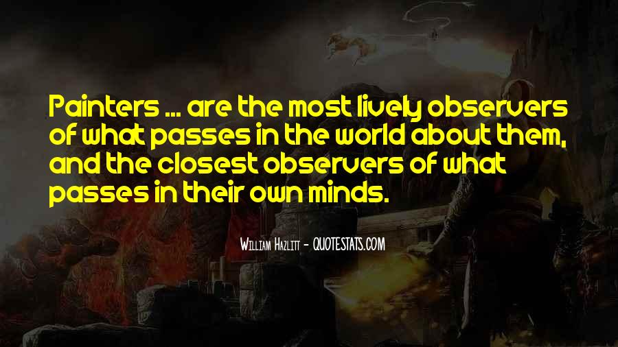 Quotes About Painting The World #910031