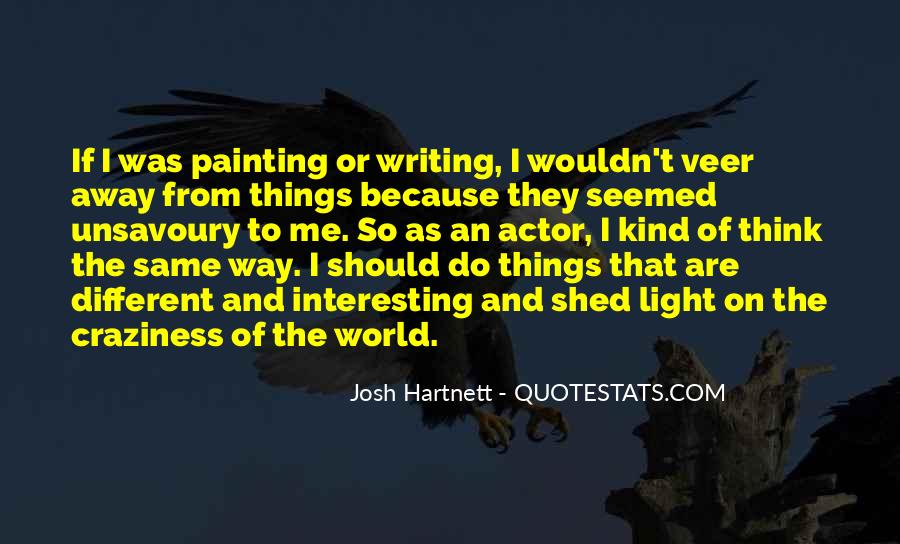 Quotes About Painting The World #960035