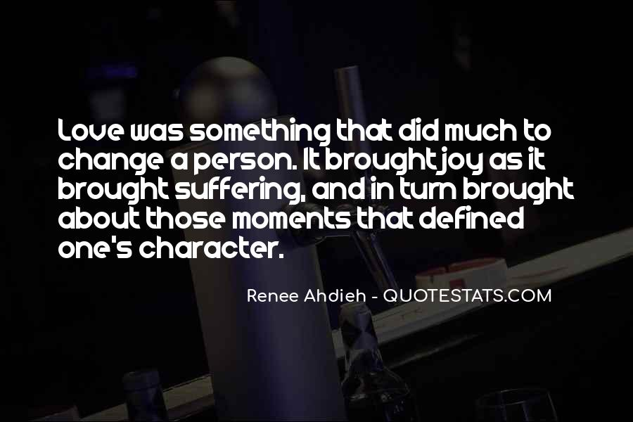 Quotes About A Person's Character #1003932