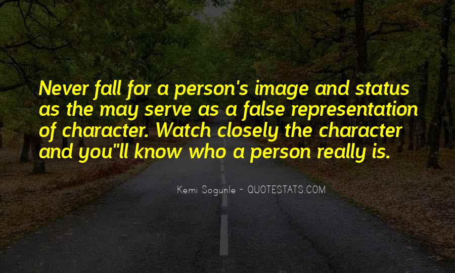 Quotes About A Person's Character #218087