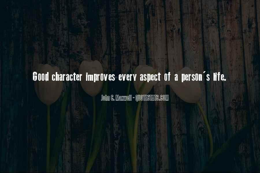Quotes About A Person's Character #250736