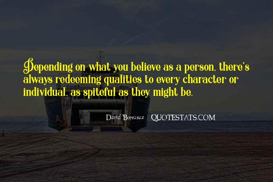 Quotes About A Person's Character #251091