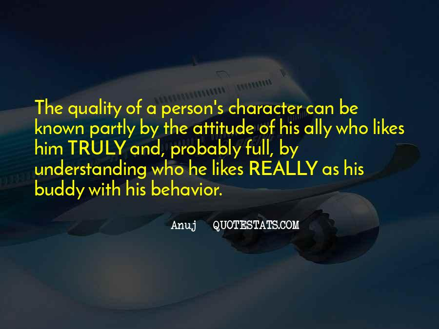 Quotes About A Person's Character #25223