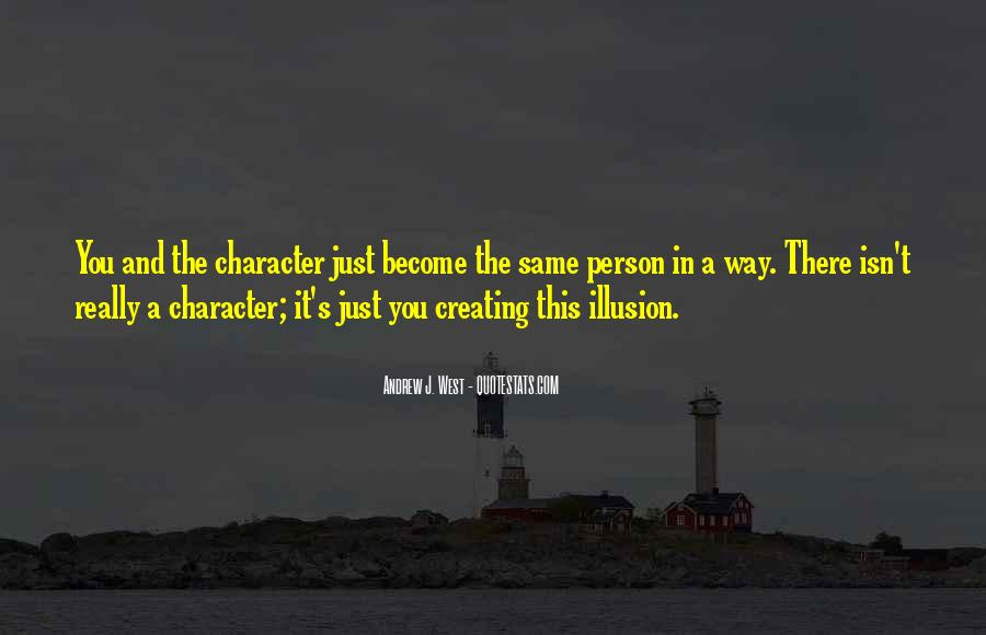 Quotes About A Person's Character #321189
