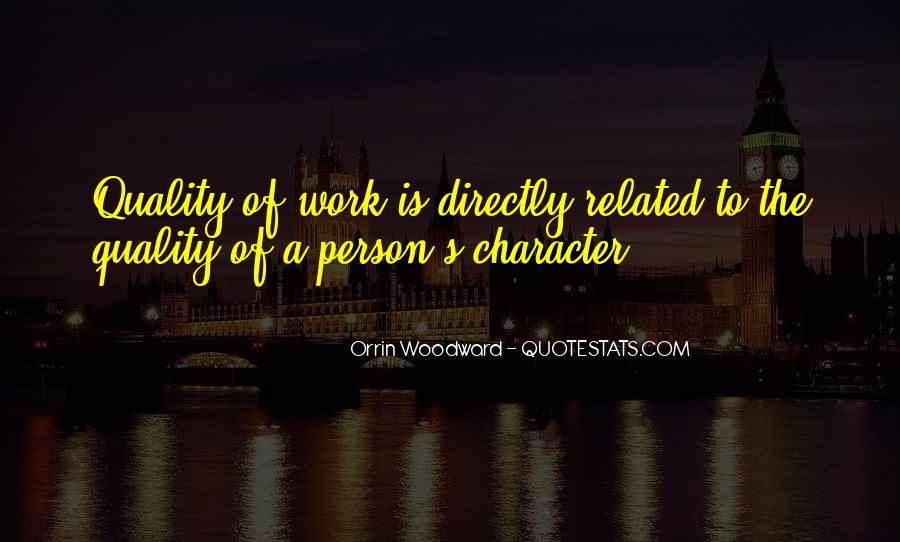 Quotes About A Person's Character #439009