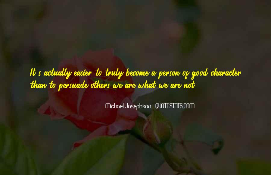 Quotes About A Person's Character #555025