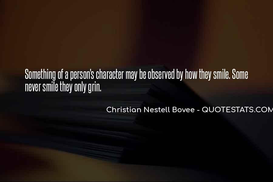 Quotes About A Person's Character #619390