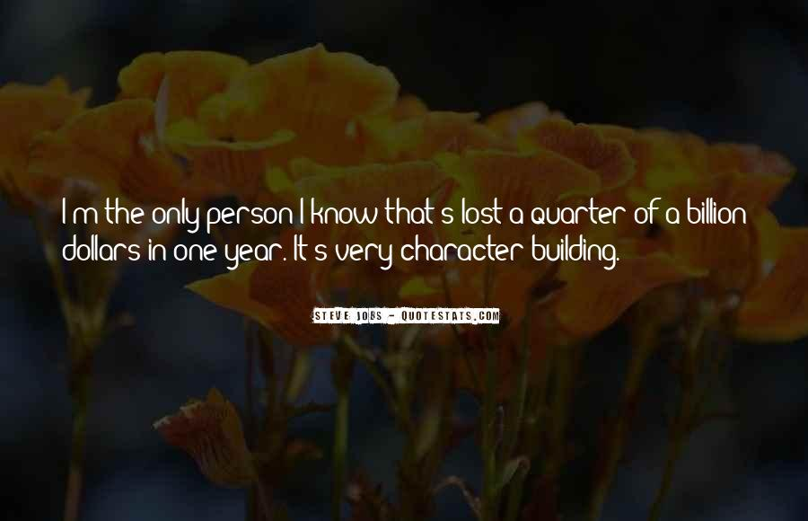 Quotes About A Person's Character #636302