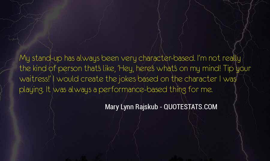 Quotes About A Person's Character #642107
