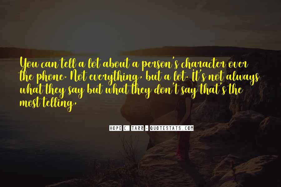 Quotes About A Person's Character #679831