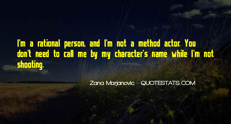 Quotes About A Person's Character #716499