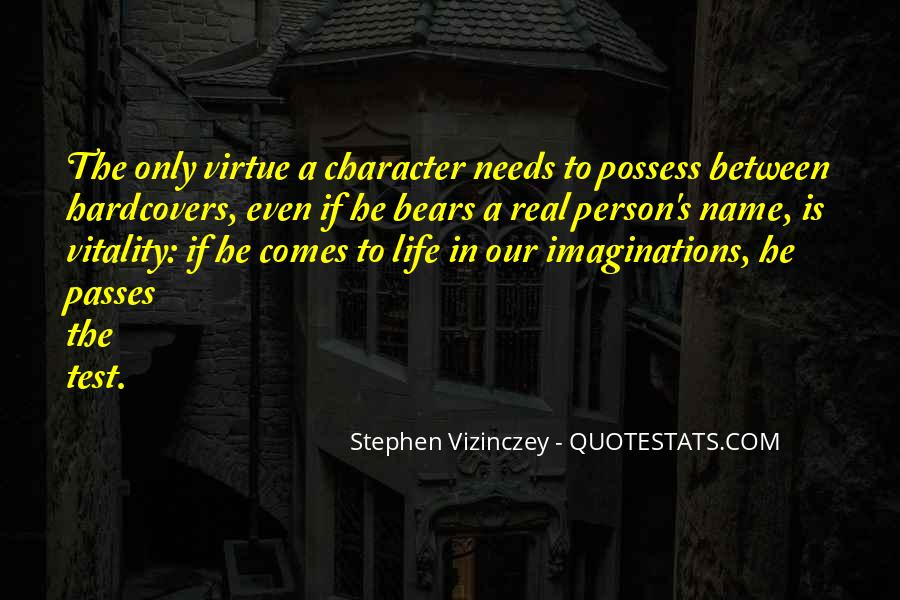 Quotes About A Person's Character #73119