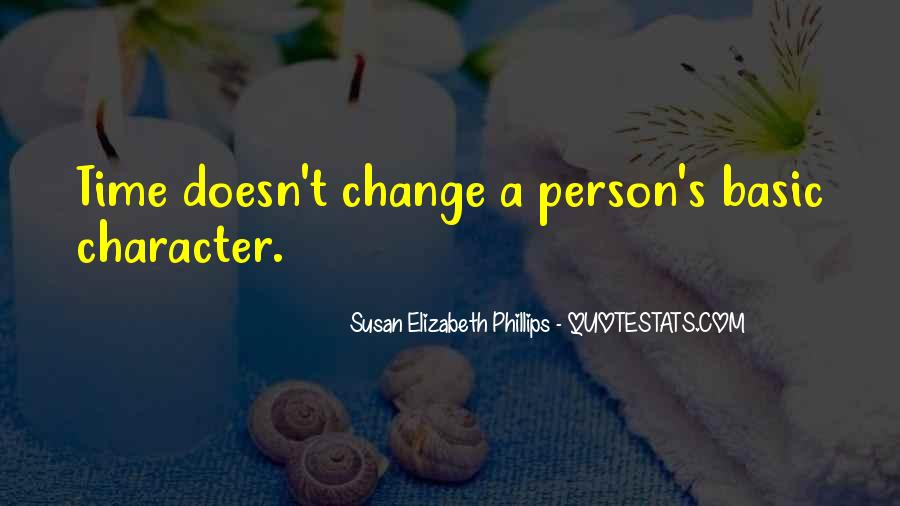Quotes About A Person's Character #799777