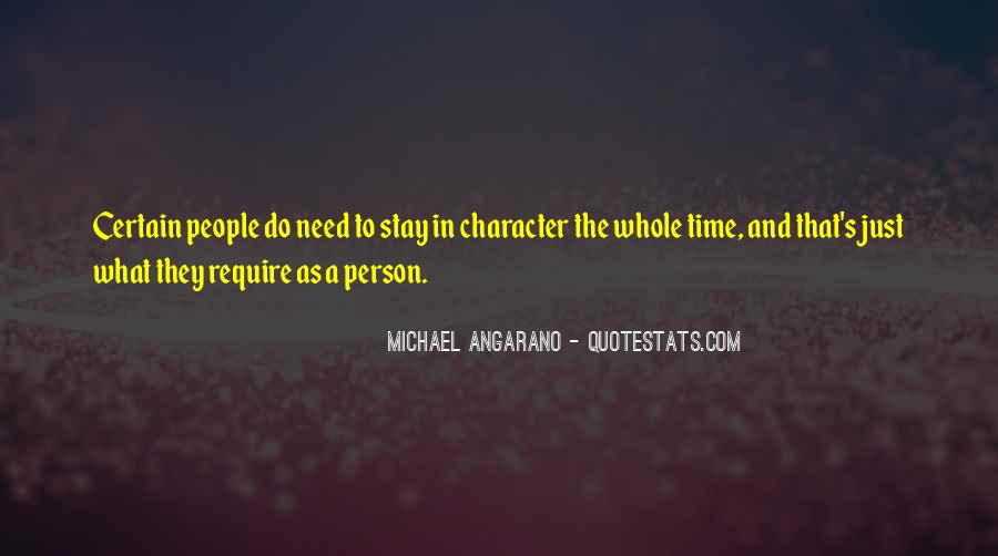 Quotes About A Person's Character #85413