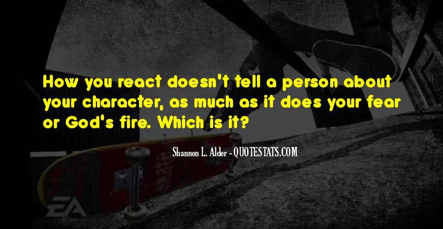 Quotes About A Person's Character #920453