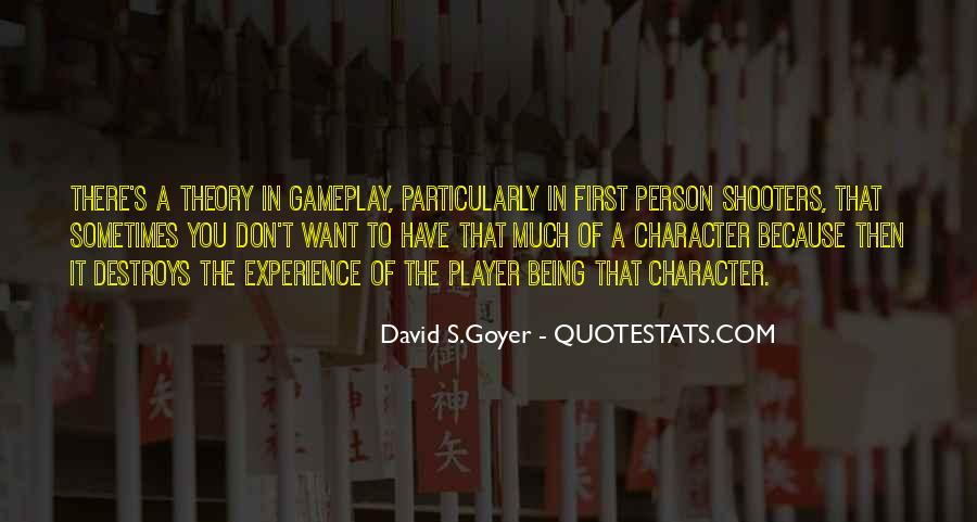 Quotes About A Person's Character #968943