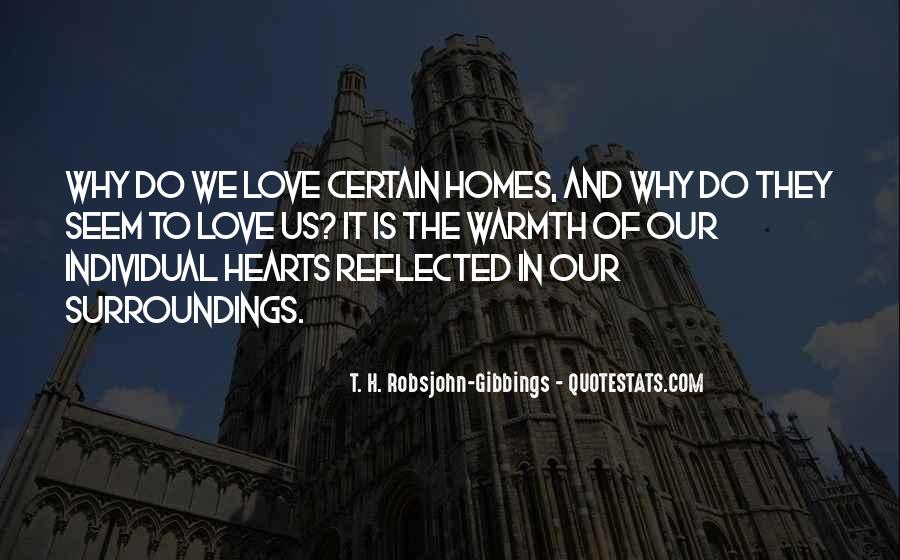Quotes About Warmth And Love #1075021
