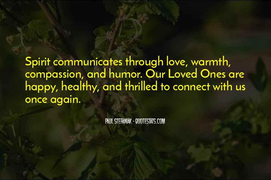 Quotes About Warmth And Love #326590