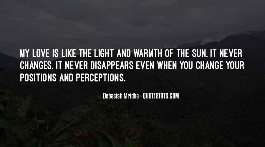 Quotes About Warmth And Love #85169
