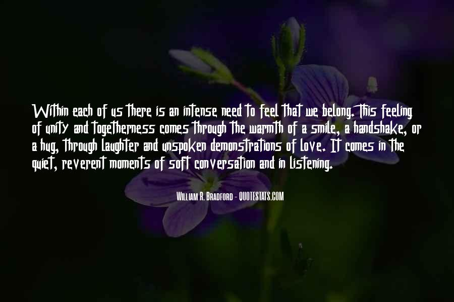 Quotes About Warmth And Love #904355