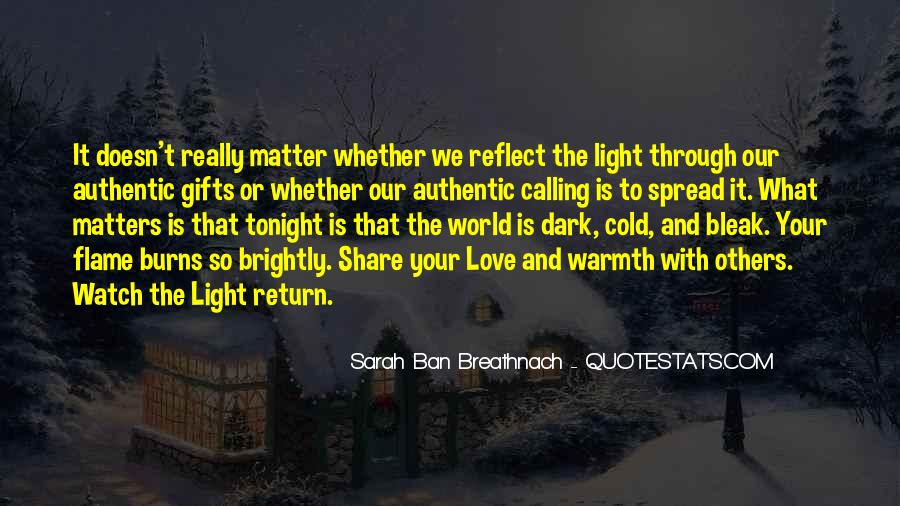 Quotes About Warmth And Love #915406