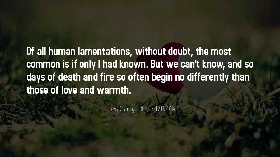 Quotes About Warmth And Love #986279