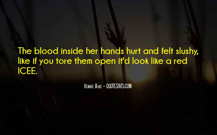 Quotes About Being Hurt On The Inside #1117967