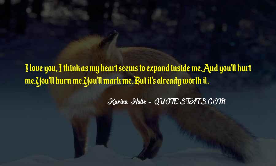 Quotes About Being Hurt On The Inside #1189805