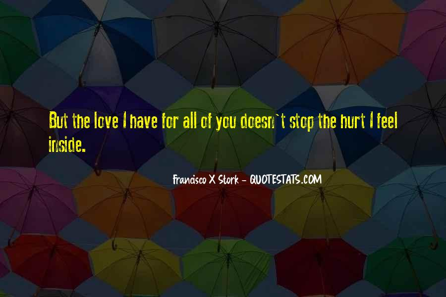 Quotes About Being Hurt On The Inside #1194413