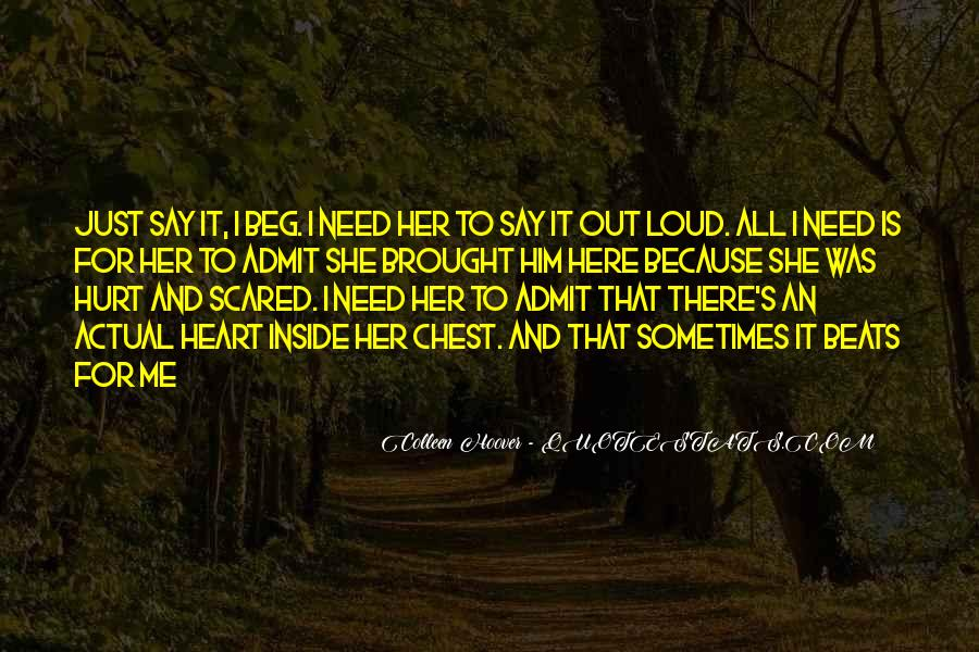Quotes About Being Hurt On The Inside #1227711