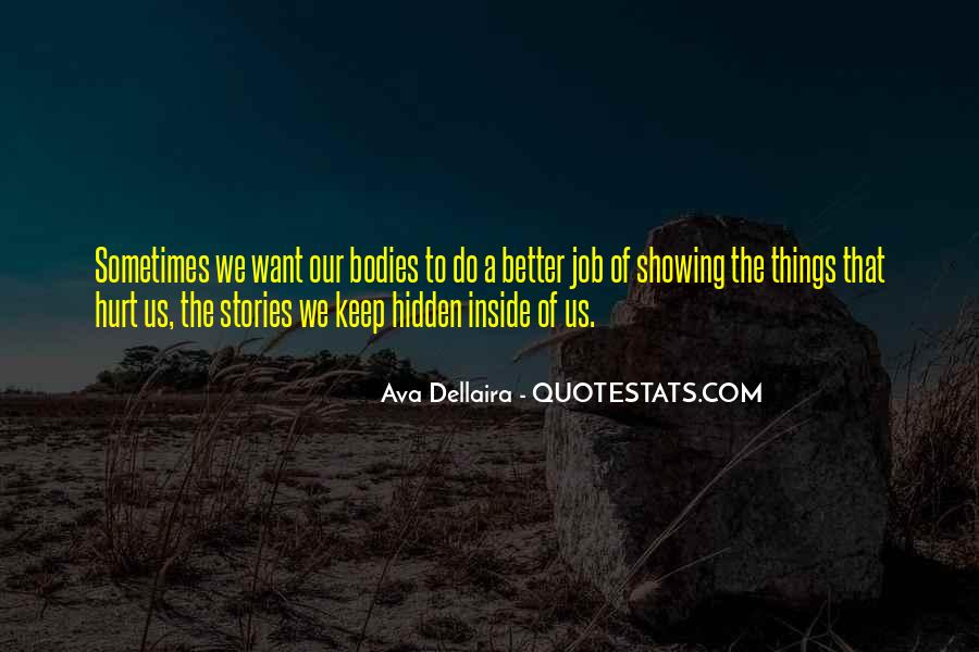 Quotes About Being Hurt On The Inside #1285771