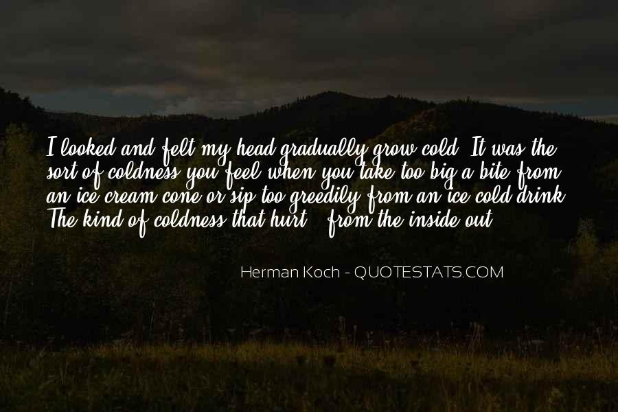 Quotes About Being Hurt On The Inside #128606
