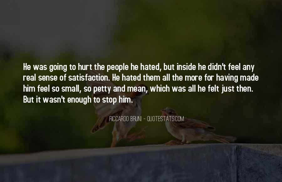 Quotes About Being Hurt On The Inside #164782