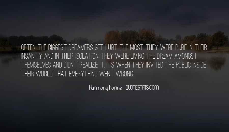 Quotes About Being Hurt On The Inside #228604