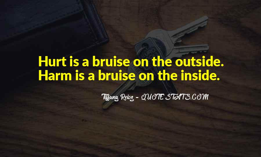 Quotes About Being Hurt On The Inside #394409
