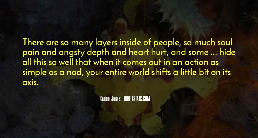 Quotes About Being Hurt On The Inside #609751