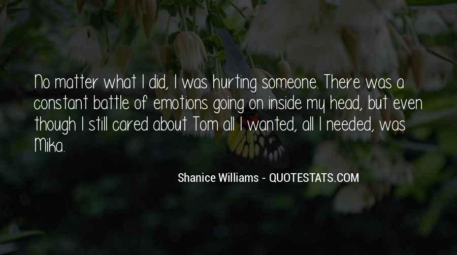 Quotes About Being Hurt On The Inside #665788