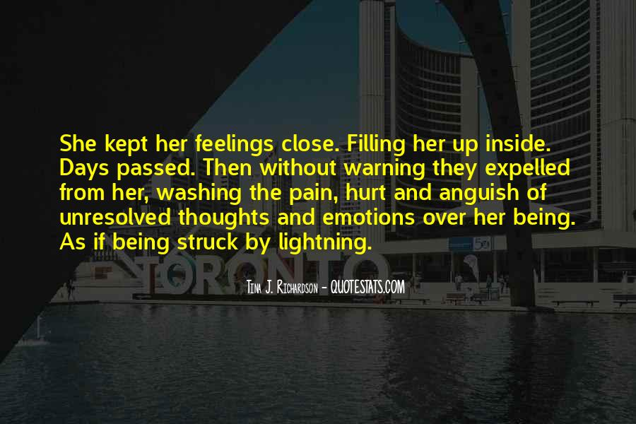Quotes About Being Hurt On The Inside #726449