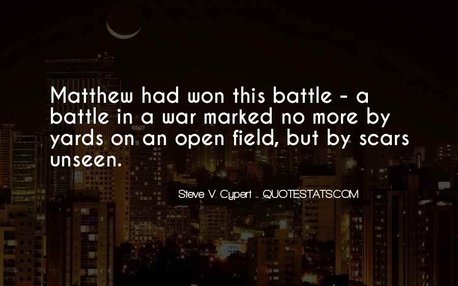 Quotes About Open Wounds #1434437